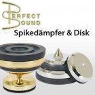 Perfect Sound 85 400 Spikedamper & Discs Silver