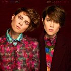 Tegan and Sara LIVE AT ZIA RECORDS (Aqua blue vinyl)