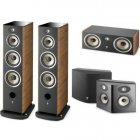 Focal Aria SR 900 + Aria 948 walnut