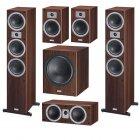 Комплект акустики Magnat Tempus 77 + 33 + Center 22 + SW 300 A mocca