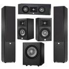 JBL STUDIO 5.1 Set Black (280+220+225c+250p)