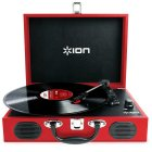 ION Audio Vinyl Transport red