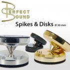 Perfect Sound 80 628 Spikes + Discs (4+4) Gold