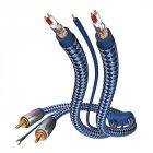 Кабель межблочный In-Akustik Premium Phono Cable RCA-RCA 0.75m #00405107