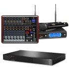 Art-System Комплект AST-250, радиосистема AST-922M и микшер AST-8FX