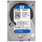 Western Digital Blue WD60EZRZ, 6Тб, HDD, SATA III, 3.5