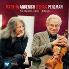 Виниловая пластинка Martha Argerich & Itzhak Perlman SCHUMANN, BACH, BRAHMS (180 Gram)