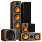 Комплект акустики Monitor Audio Monitor Set 5.1 Walnut Vinyl (300 + 100 + C150 + W10)
