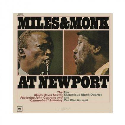 Miles Davis MILES AND MONK AT NEWPORT
