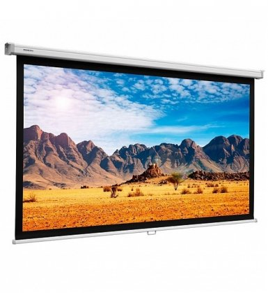 """Projecta SlimScreen (76""""/16:9) 102x180 cm Matte White (1020"""