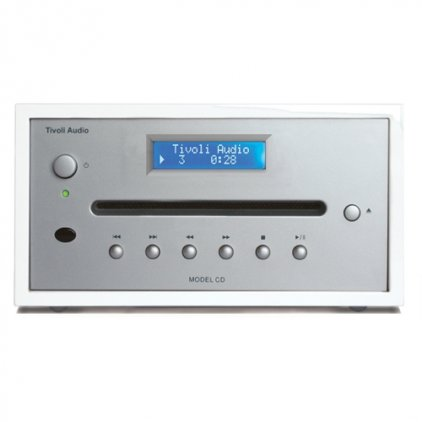 CD-проигрыватель Tivoli Audio Model CD white/silver (MCDWHTB)