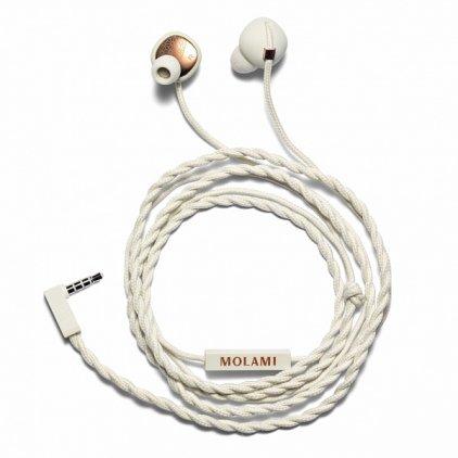 MOLAMI Stitch white/copper