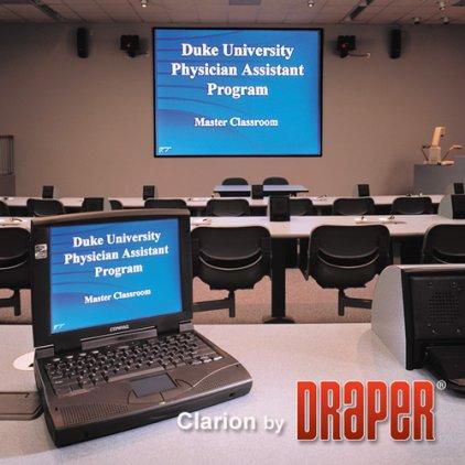 "Draper Clarion HDTV (9:16) 302/119"" 147x264 HDG (натяжной"