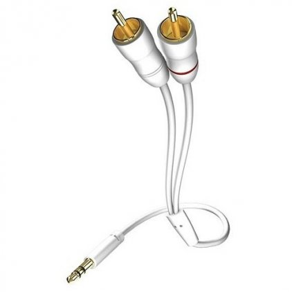 In-Akustik Star MP3 Audio Cable 3.5 Phone <> 2RCA 10.0m #00310010