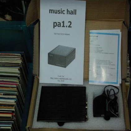 Music Hall pa 1.2 black