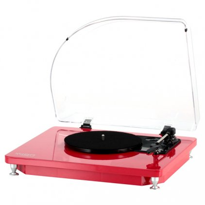 ION Audio Pure LP red