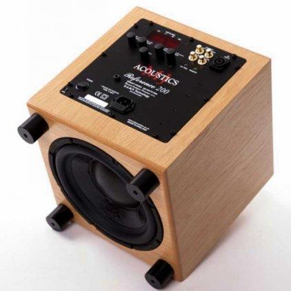 Сабвуфер MJ Acoustics Ref 200 walnut
