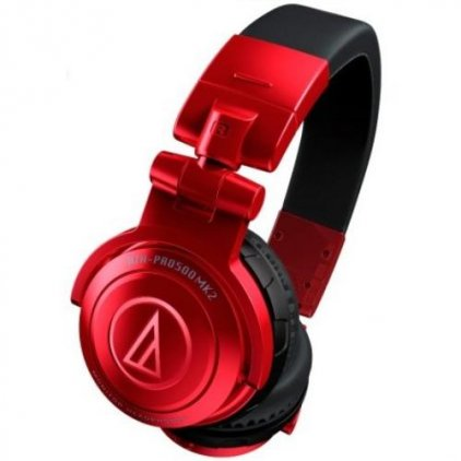 Наушники Audio Technica ATH-PRO500MK2 red