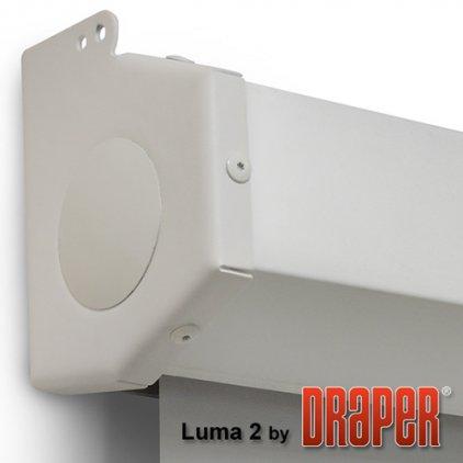 """Draper Luma 2 AV (1:1) 120/120"""" 305x305 MW case white (ру"""