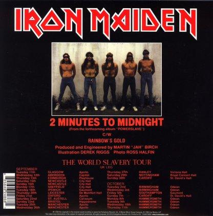 Iron Maiden 2 MINUTES TO MIDNIGHT (Limited)