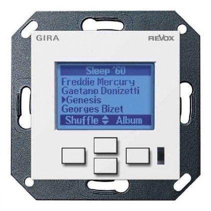 Настенная панель управления Revox M217 display GIRA System 55 (матовый белый)