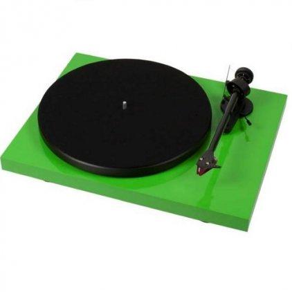 Pro-Ject Debut Carbon (DC) green (Ortofon OM10)