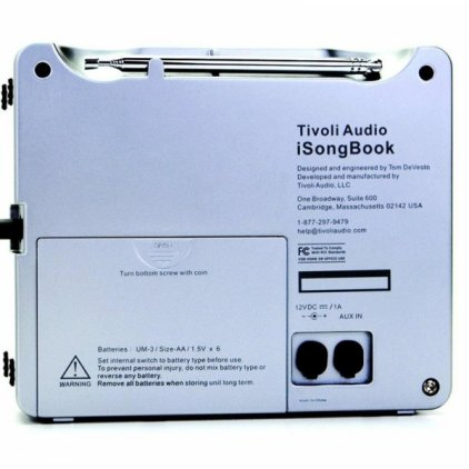 Tivoli Audio Songbook white/silver (SBWS)