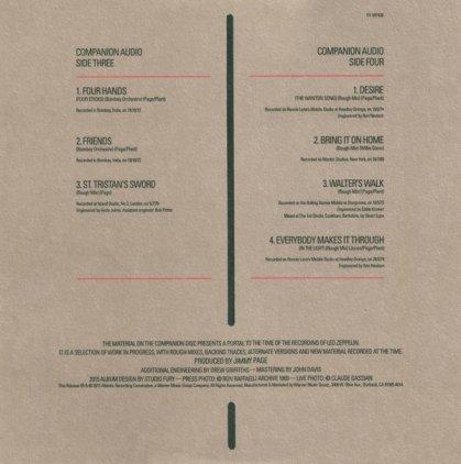 Виниловая пластинка Led Zeppelin CODA (Deluxe Edition/Remastered/180 Gram/Tri-fold sleeve with three pockets)