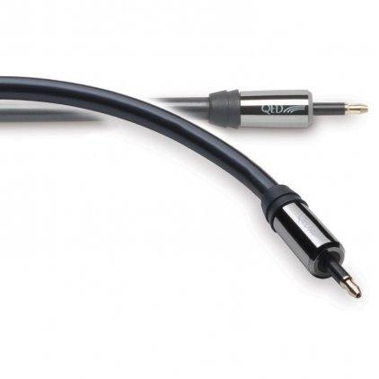 Кабель межблочный аудио QED 3021 Performance Optical Digital Mini-Mini Graphite 1.5m