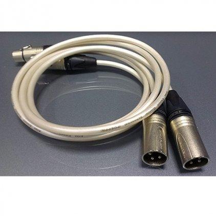 XLR кабель Atlas Element Quadstar Symmetrical XLR 1.5m