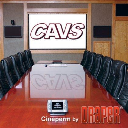 "Экран Draper Cineperm NTSC (3:4) 229/7 1/2' (90"") 138*183 HDG"