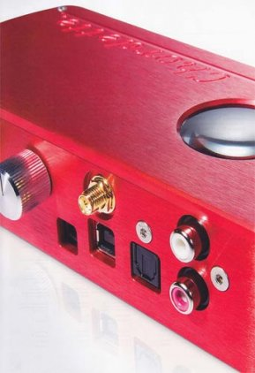 Chord Electronics Chordette PEACH red