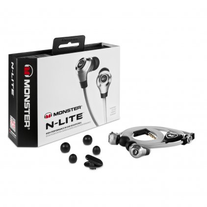 Наушники Monster N-Lite In-Ear Silver (128590-00)