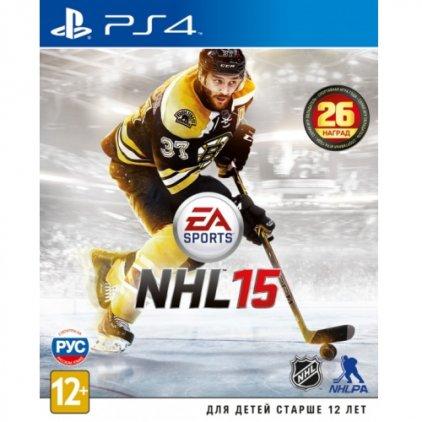 Игра для PS4 NHL 15 (русские субтитры)