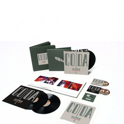 Led Zeppelin CODA (Super Deluxe Edition Box set/Remastered/3CD+3LP/180 Gram/Hardbound 72-page book)
