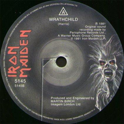 Виниловая пластинка Iron Maiden TWILIGHT ZONE (Limited)