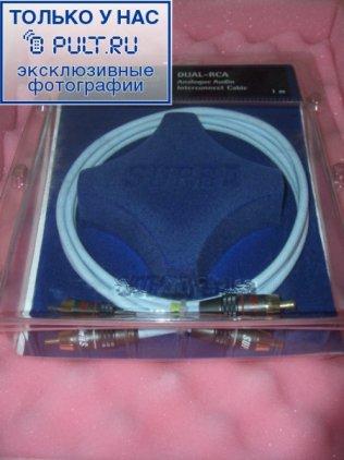 Кабель межблочный Supra Dual-RCA 2.0m