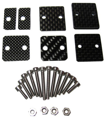 MILLENNIUM AUDIO Carbon Spacer Set