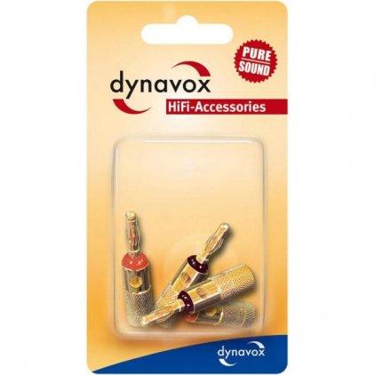 Разъем Dynavox BANANA RED/BLACK (205095)