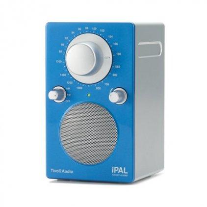 Tivoli Audio iPAL High Gloss Blue/Silver (PALIPALGB)
