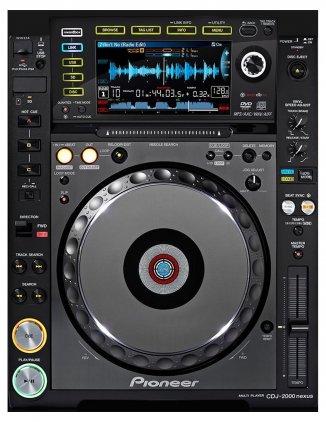 DJ-проигрыватель Pioneer CDJ-2000 Nexus