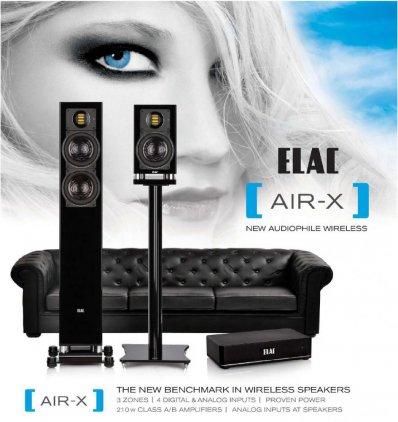 Полочная акустика Elac BS 403 Air-X high gloss black