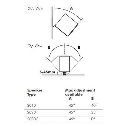 Настенное крепление Q-Acoustics 2000WB