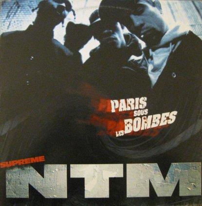 Supreme NTM PARIS SOUS LES BOMBES (Gatefold)