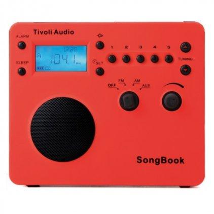 Радиоприемник Tivoli Audio Songbook red (SBRED)