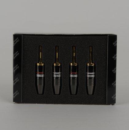 Разъем Tchernov Cable Banana Plug Reference G / Set 4