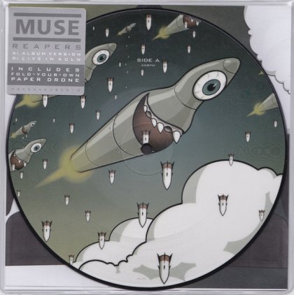 "Muse REAPERS (RSD 2016/7"" Picture disc)"