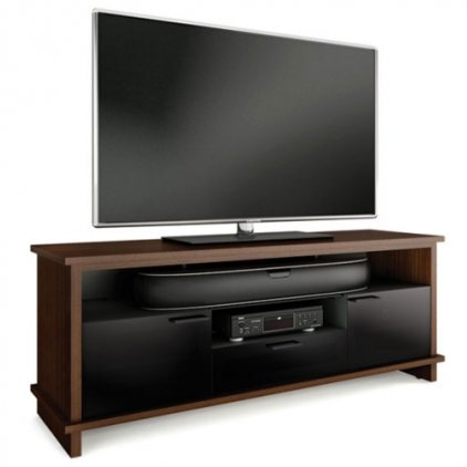 Подставка под ТВ и HI-FI BDI Braden 8828 Choc Wal
