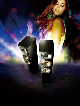 Напольная акустика Yamaha NS-F330 black
