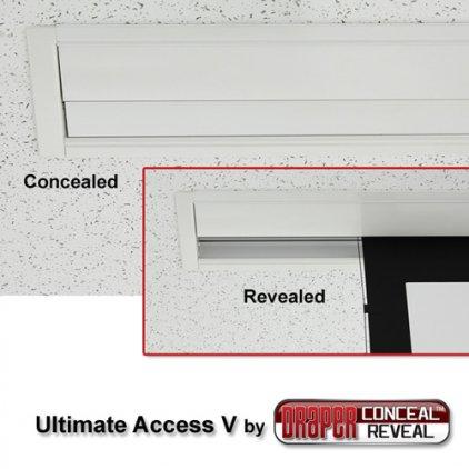 """Экран Draper Ultimate Access/V HDTV (9:16) 409/161"""" 201*356 HDG (XH600V) ebd 12"""""""